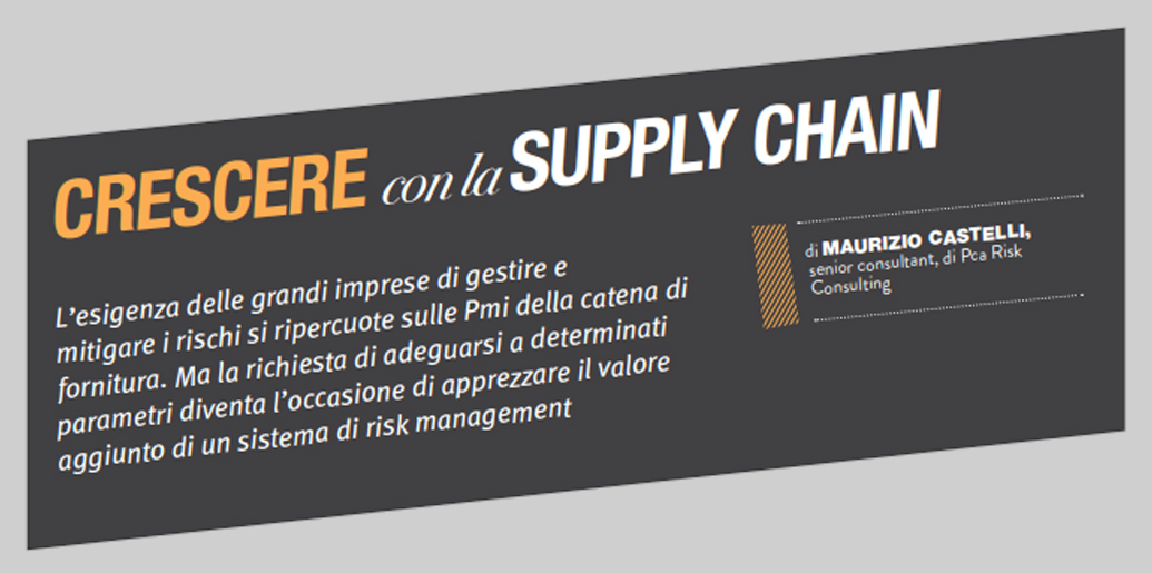 Supply Chain Maurizio Castelli Augustas Risk Servicing